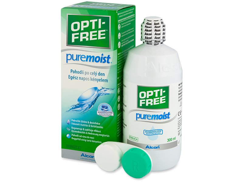 OPTI-FREE PureMoist Solução 300ml