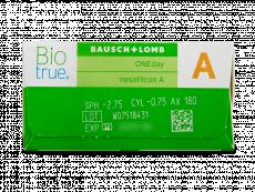 Biotrue ONEday for Astigmatism (30 lentes)