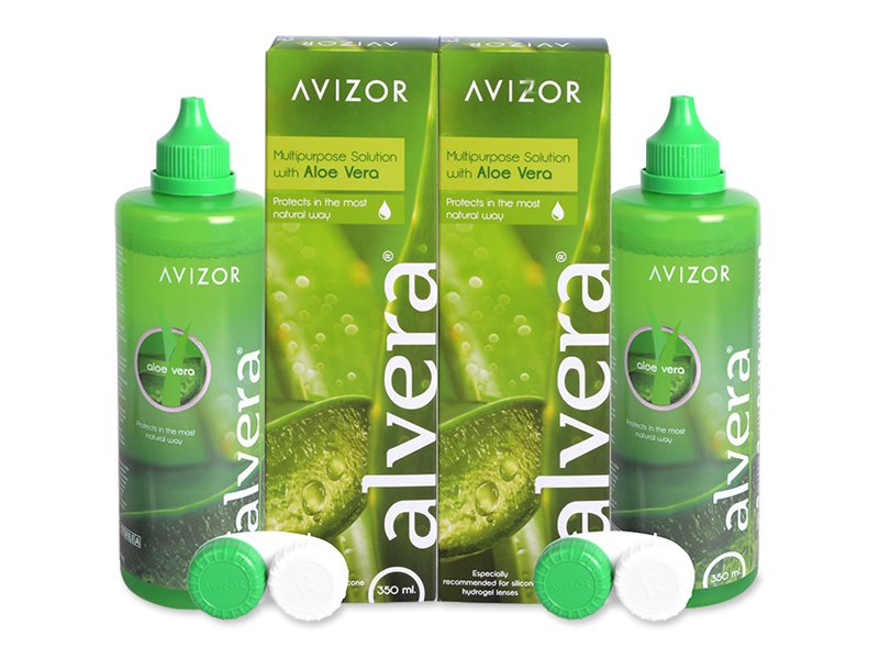 Solução Alvera 2x350 ml