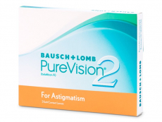 PureVision 2 for Astigmatism (3 lentes)