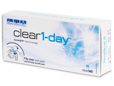 Clear 1-Day (30lentes)