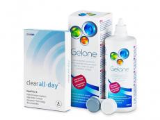 Clear All-Day (6lentes) +Solução Gelone360ml