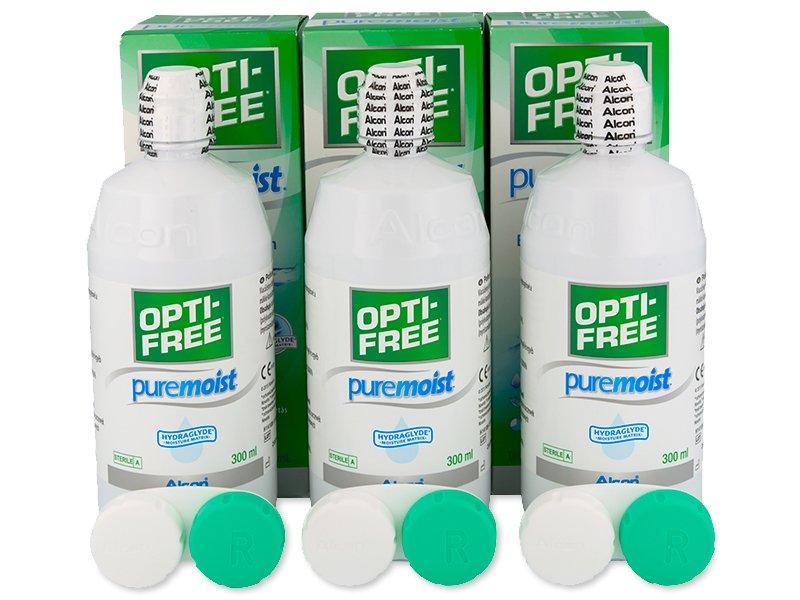 OPTI-FREE PureMoist Solução 3x300ml