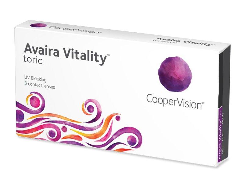 Avaira Vitality Toric (3 lentes)