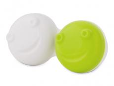 Estojo de Lente com Limpador Vibratório - Verde