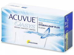 Acuvue Oasys for Astigmatism (12lentes)
