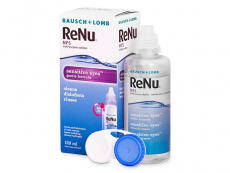 Solução ReNu MPS Sensitive Eyes 120 ml