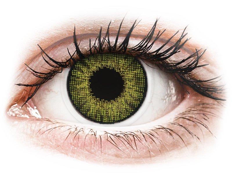Lentes de Contacto Verde Gemstone com correção - Air Optix Colors (2lentes)
