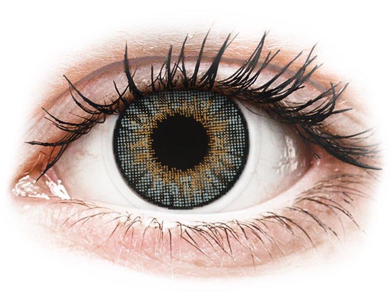 Lentes de Contacto Cinza com correção - Air Optix Colors (2lentes)