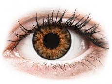 Lentes de Contacto Mel Honey com correção - Air Optix Colors (2lentes)