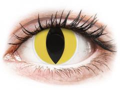 Lentes de Contacto Crazy Lens Olhos de Gato Cat Eyes - ColourVUE (2 lentes)