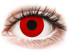Lentes de Contacto Crazy Lens Vermelho Red Devil - ColourVUE (2 lentes)