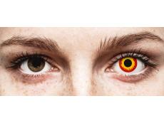 Lentes de Contacto Crazy Lens Incêndio Wildfire - ColourVUE (2 lentes)