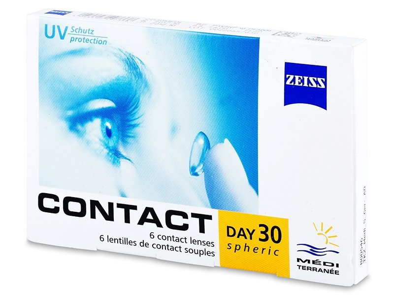 Carl Zeiss Contact Day 30 Spheric (6 lentes)