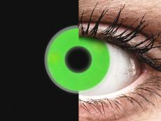 Lentes de Contacto Crazy Glow Verde - ColourVUE (2lentes)