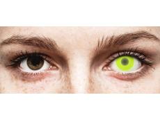 Lentes de Contacto Crazy Glow Amarela - ColourVUE (2lentes)