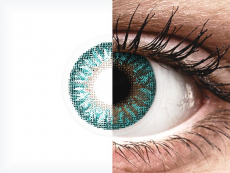 TopVue Color - Turquoise - com correção (2 lentes)