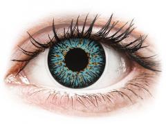 Lentes de Contacto Glamour Aqua com correção - ColourVUE (2lentes)