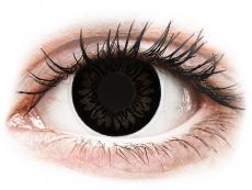 Lentes de Contacto BigEyes Preta Dolly Black com correção - ColourVUE (2lentes)