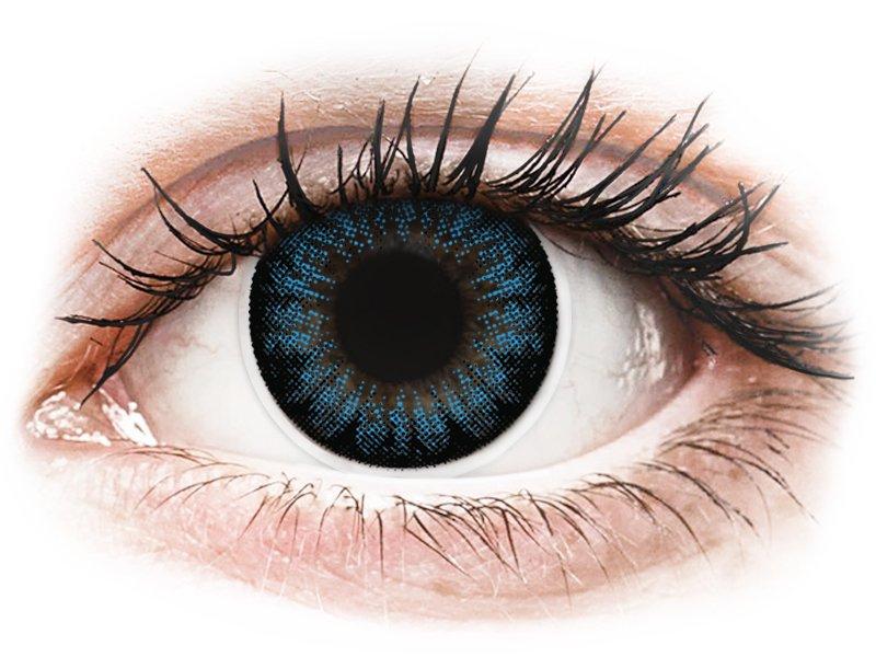 Lentes de Contacto BigEyes Azul Blue Cool com correção - ColourVUE (2lentes)