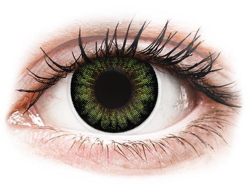 Lentes de Contacto BigEyes Verde Green Party - ColourVUE (2lentes)