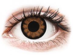 Lentes de Contacto BigEyes Marrom Sexy Brown com correção - ColourVUE (2lentes)