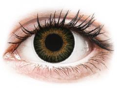 Lentes de Contacto 3 Tones Verde com correção - ColourVUE (2lentes)