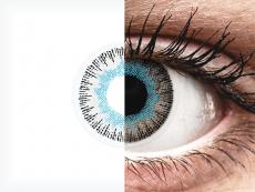 Lentes de Contacto Fusion Azul Acinzentado com correção - ColourVUE (2lentes)