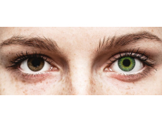 Lentes de Contacto Fusion Verde Amarelado - ColourVUE (2lentes)