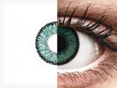 SofLens Natural Colors Jade - sem correção (2 lentes)