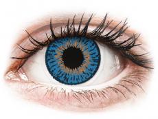 Lentes de Contacto Expressions Colors Azul Escuro com correção (1 lente)