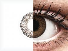 Lentes de Contacto ColorBlends Marrom Brown com correção - FreshLook (2 lentes) (2 lentes)