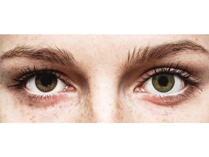 Lentes de Contacto ColorBlends Verde Gemstone Green com correção - FreshLook (2 lentes) (2 lentes)