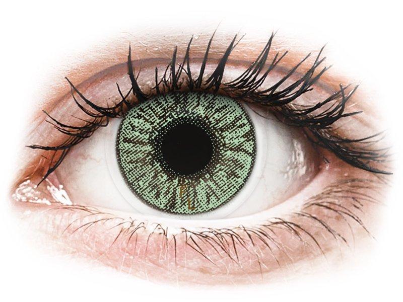 FreshLook Colors Green - com correção (2 lentes)
