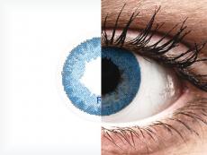 FreshLook Dimensions Pacific Blue - sem correção (2 lentes)