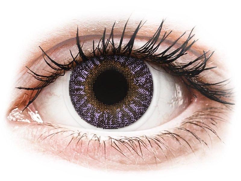 TopVue Color - Violet - sem correção (2 lentes)