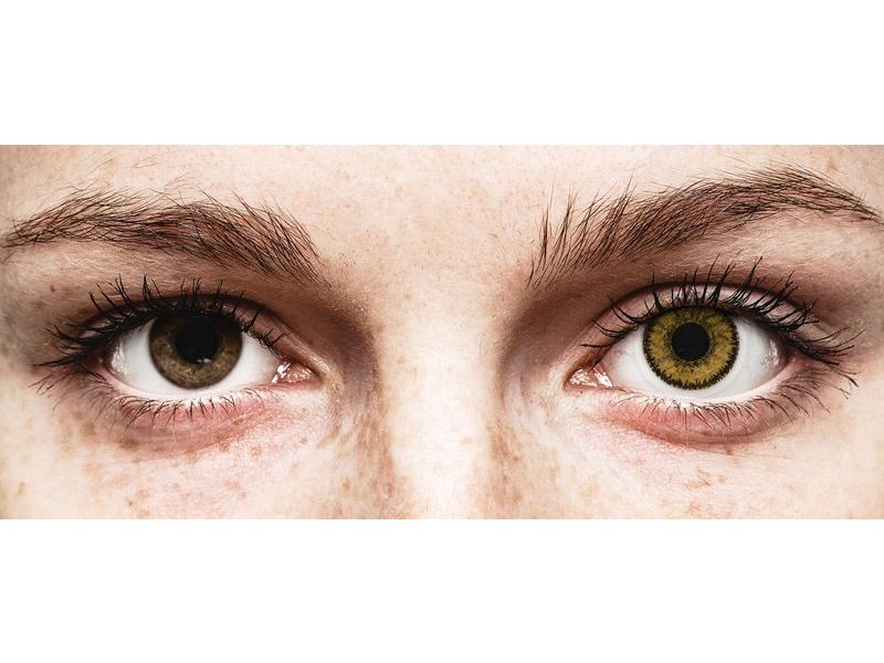 SofLens Natural Colors Dark Hazel - com correção (2 lentes)