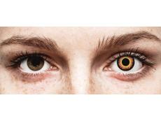 Lentes de Contacto Diárias Crazy Lens Lobisomem Laranja Orange Werewolf - ColourVUE (2 lentes)