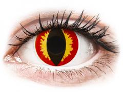 Lentes de Contacto Diárias Crazy Lens Olhos de Dragão - ColourVUE (2 lentes)