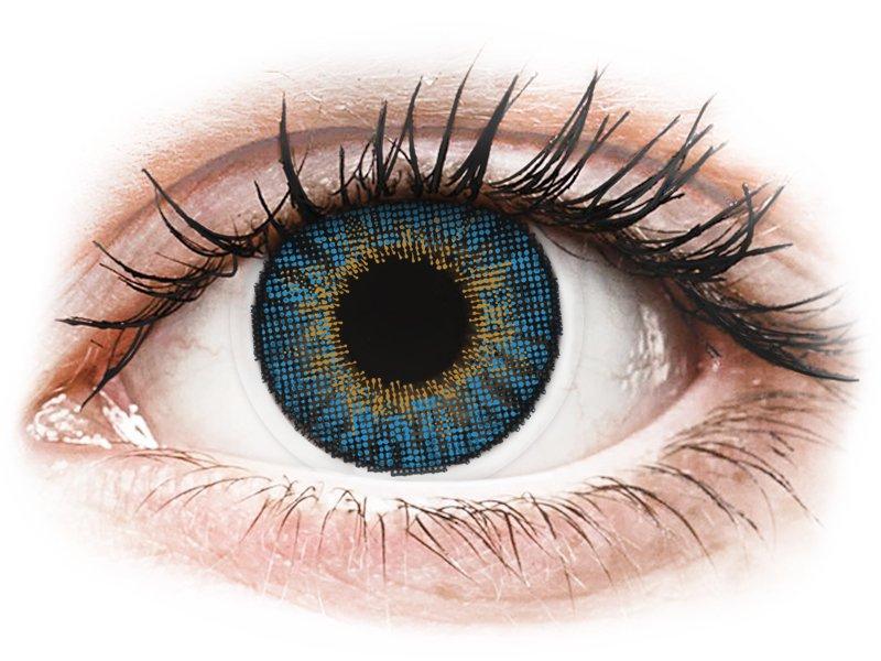 Air Optix Colors - True Sapphire - sem correção (2 lentes)