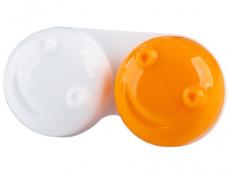 Estojo para lentes de contacto 3D - Laranja