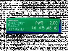 Air Optix plus HydraGlyde for Astigmatism (6lentes)