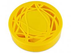 Caixa com espelho - Amarelo