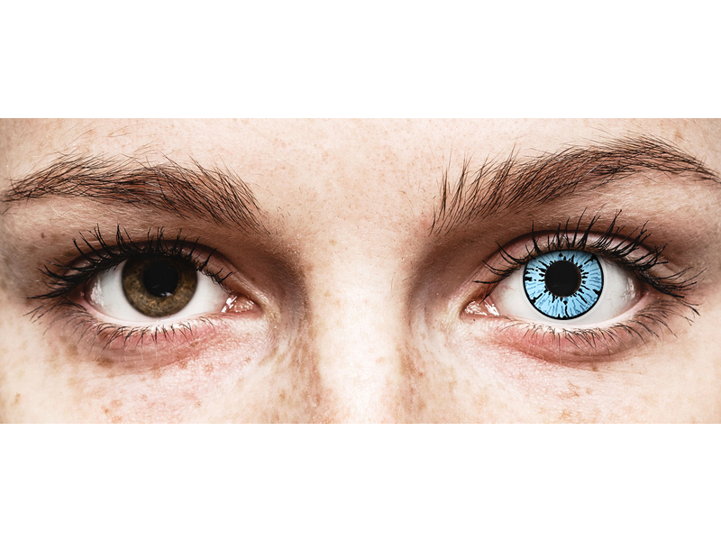 Lentes de Contacto Crazy Lens Nevasca Blizzard - ColourVUE (2 lentes)