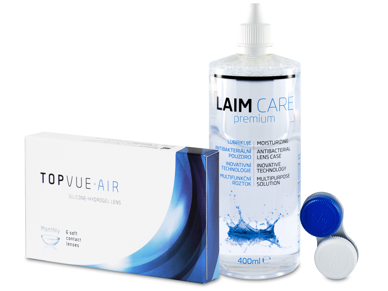 TopVue Air (6 lentes) + LAIM CARE 400