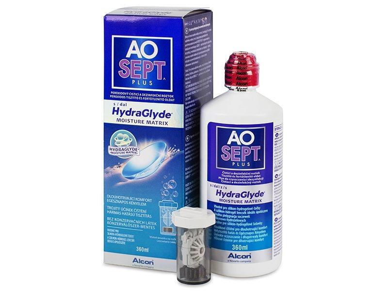 AO SEPT PLUS HydraGlyde solução 360ml