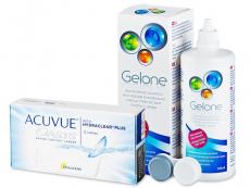 Acuvue Oasys (12 lentes) + Solução Gelone 360 ml
