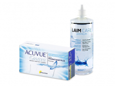 Acuvue Oasys for Astigmatism (12 lentes) + Solução Laim-Care 400 ml