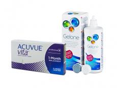 Acuvue Vita (6 lentes) + Solução Gelone 360 ml