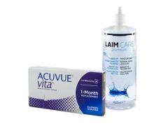 Acuvue Vita (6 lentes) + Solução Laim-Care 400 ml